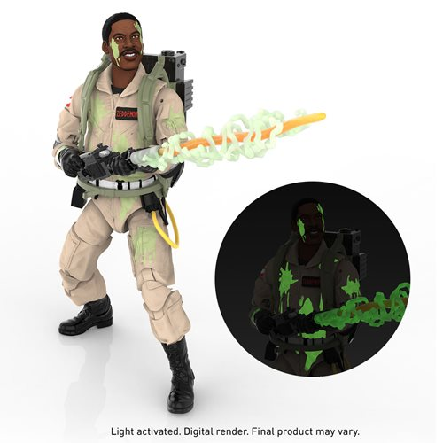 Ghostbusters Glow-in-the-Dark Winston Zeddemore Figure