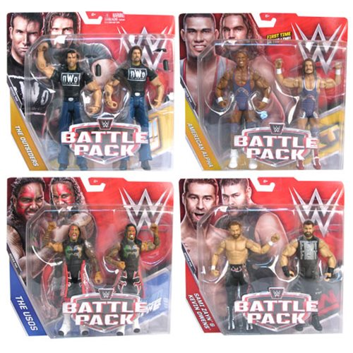 WWE Basic 2-Pack Series 44 Action Figure Case