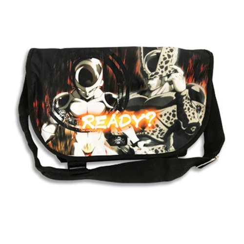 Dragon Ball Fighterz Cell and Frieza Messenger Bag