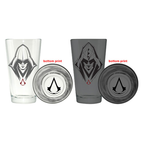 Assassins Creed Faces Pint Glass 2-Pack