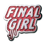 Creepy Co. Final Girl Enamel Pin