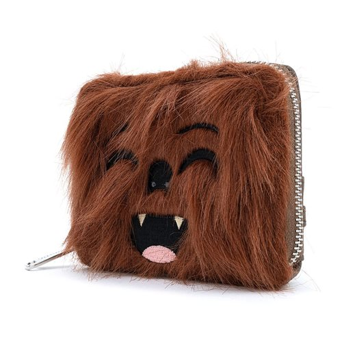 Star Wars The Empire Strikes Back 40th Anniversary Chewbacca Zip-Around Wallet