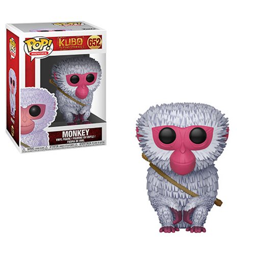 Kubo and the Two Strings Monkey Pop! Vinyl Figure #652
