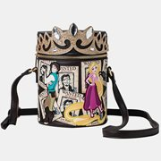 Tangled Rapunzel Wanted Cylinder Crossbody Purse