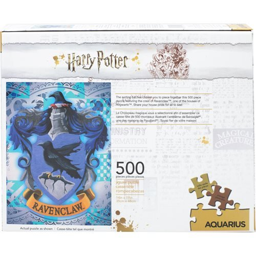Harry Potter Ravenclaw Logo 500-Piece Puzzle