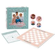 The Golden Girls Shady Pines Game Set Checkers and Bingo