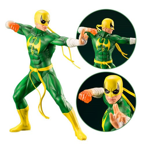 Marvel Defenders Iron Fist ARTFX+ Statue
