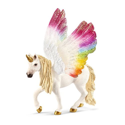 Bayala Winged Rainbow Unicorn Mare Collectible Figure