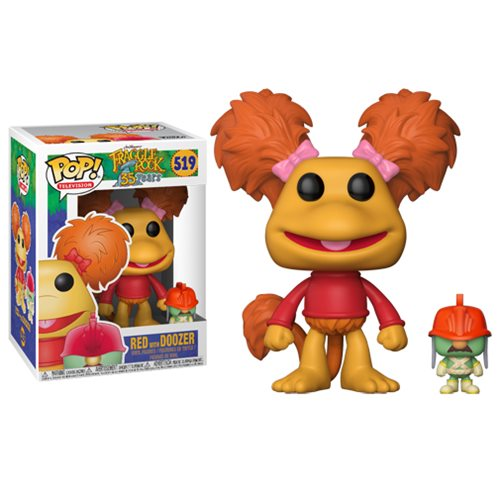 Fraggle Rock Red with Doozer Pop! Vinyl Figure #519