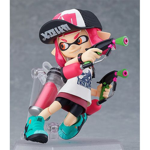 Splatoon Inkling Girls DX Edition Figma Action Figures