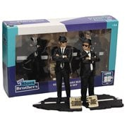 The Blues Brothers Jake and Elwood 7-Inch Movie Icons Statue Set