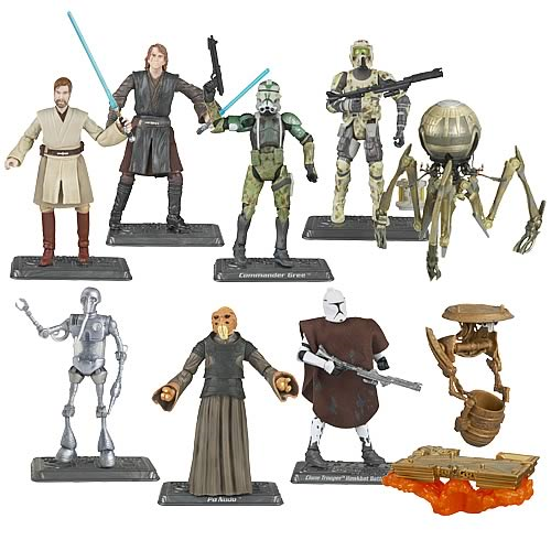 Star Wars 2008 Action Figures Wave 1 Revision 3
