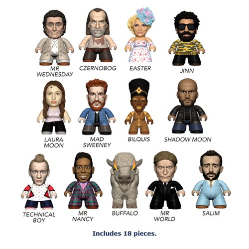 American Gods Titans – Display Case of 18 Mini-Figures