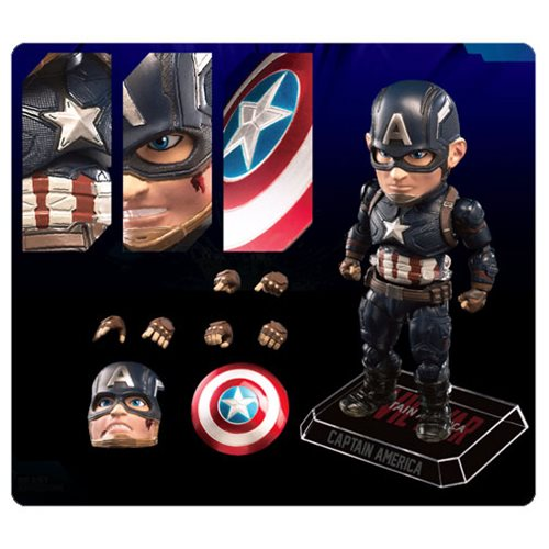 Captain America: Civil War Captain America Egg Attack Action Figure