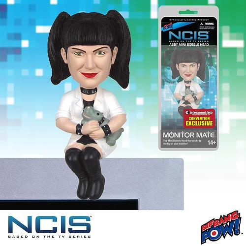 NCIS Abby Monitor Mate Bobble Head - Convention Exclusive