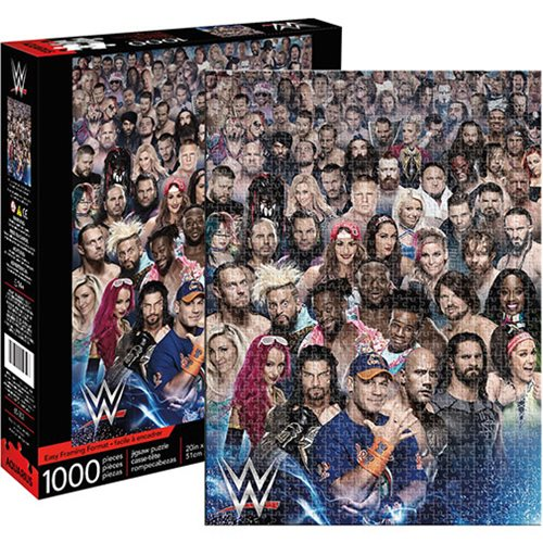 WWE Cast 1,000-Piece Puzzle