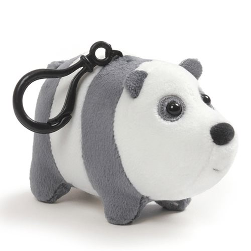 We Bare Bears Panda Clip-On Backpack Plush