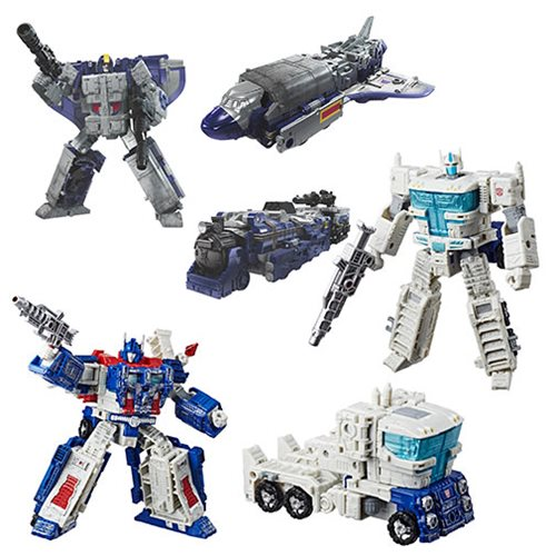 Choose a figu Transformers Generations War for Cybertron Trilogy Siege Leader