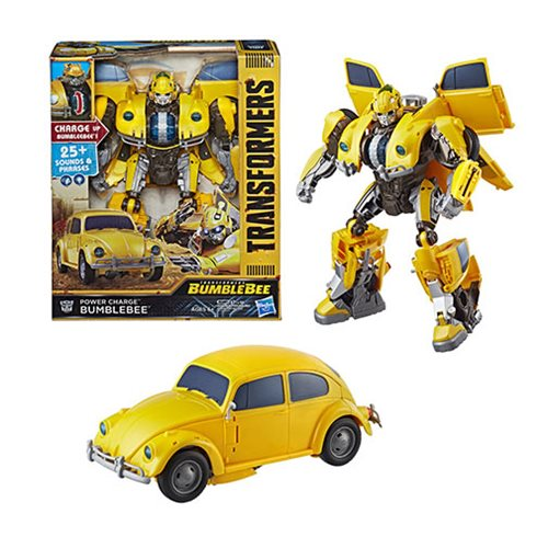 Transformers Bumblebee Movie Power Charge Bumblebee, Not Mint