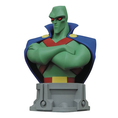 Justice League: The Animated Series Martian Manhunter Bust