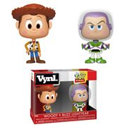 Toy Story Woody and Buzz VYNL Figure 2-Pack
