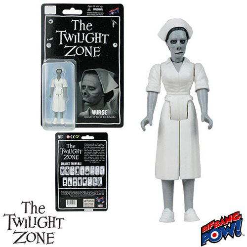 The Twilight Zone Eye of the Beholder Nurse 3 3/4-Inch Action Figure Series 2