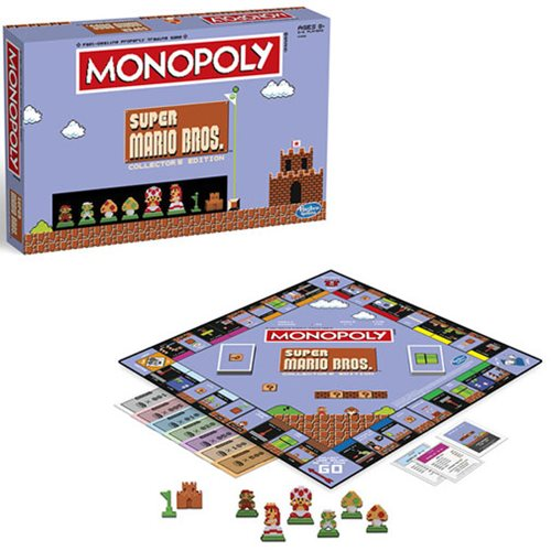 Super Mario Bros. 8-Bit Monopoly Game