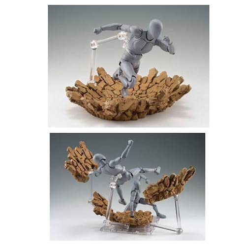 Tamashii Effect Impact Beige Action Figure Effect Accessories