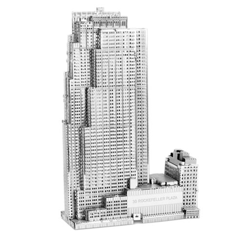 Rockefeller Building Metal Earth Model Kit