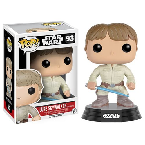 Star Wars Bespin Luke with Lightsaber Pop! Vinyl Bobble Head
