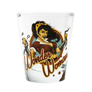 DC Bombshells Wonder Woman Shot Glass