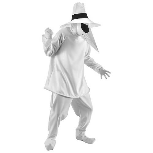 Spy vs. Spy White Spy Deluxe Adult Costume