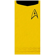 Star Trek Kirk Gold Cotton Beach Towel