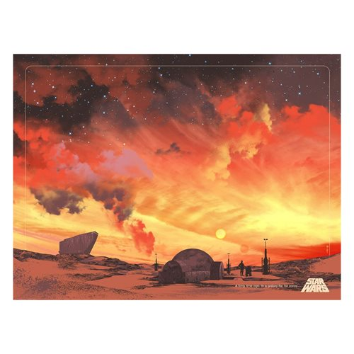 Star Wars: A New Hope Binary Sunset by Guy Stauber Lithograph Art Print