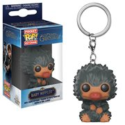Fantastic Beasts 2 Baby Niffler Gray Pocket Pop! Key Chain