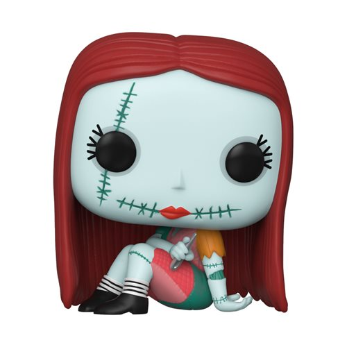 The Nightmare Before Christmas Sally Sewing Pop! Vinyl Figure, Not Mint