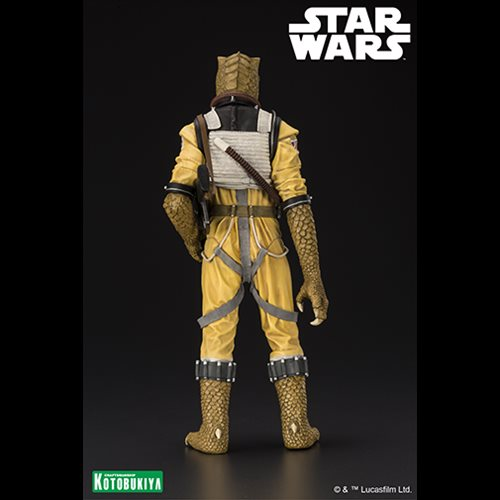 Star Wars Bossk Bounty Hunter 1 10 Scale Artfx Statue