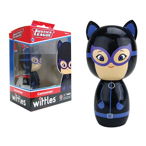 Catwoman Wittles Wooden Doll