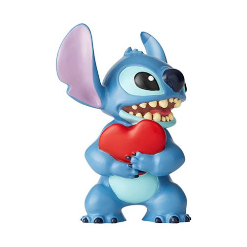 Disney Showcase Lilo & Stitch Stitch with Heart Mini Statue