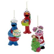 Sesame Street Ornament 3-Pack Set