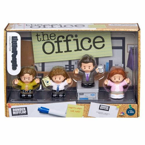 The Office Figure Set by Little People Collector