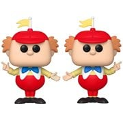 Alice in Wonderland 70th Anniversary Tweedle Dee & Dum Pop! Vinyl Figure 2-Pack