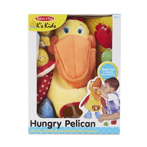 Melissa & Doug Hungry Pelican Plush Toy
