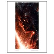 Star Wars Forged in Darkness by Raymond Swanland Paper Giclee Art Print