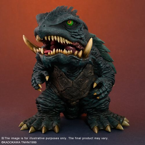 Gamera 3: Revenge of Iris Defo Real Soft Vinyl Figure