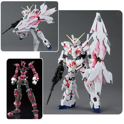 Gundam UC Unicorn Gundam Bande Dessinee RG 1:144 Model Kit