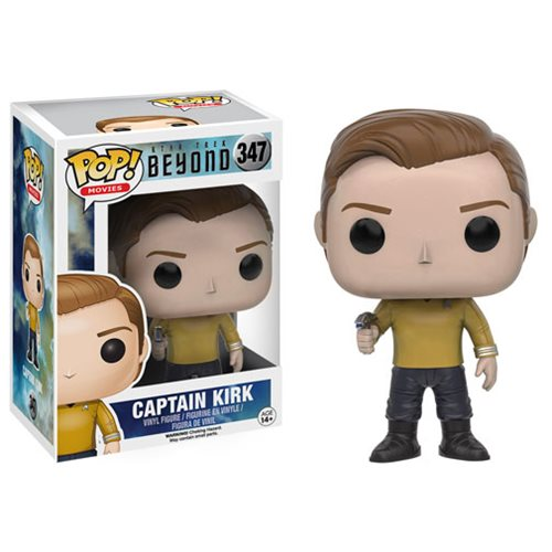 Star Trek Beyond Kirk Pop! Vinyl Figure