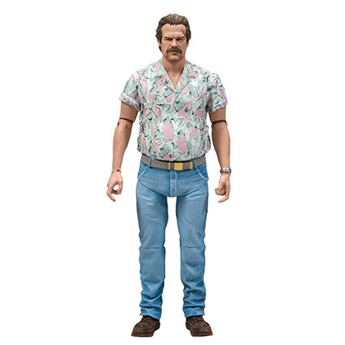 Stranger Things Series 4 Chief Hopper Version 2 Action Figure, Not Mint