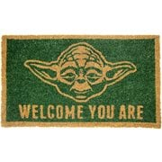 Star Wars Yoda Welcome You Are Coir Doormat