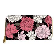 Minnie Mouse Pink Floral Zip-Around Wallet